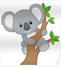 210x230 Cute Baby Koala Drawing Posters Redbubble