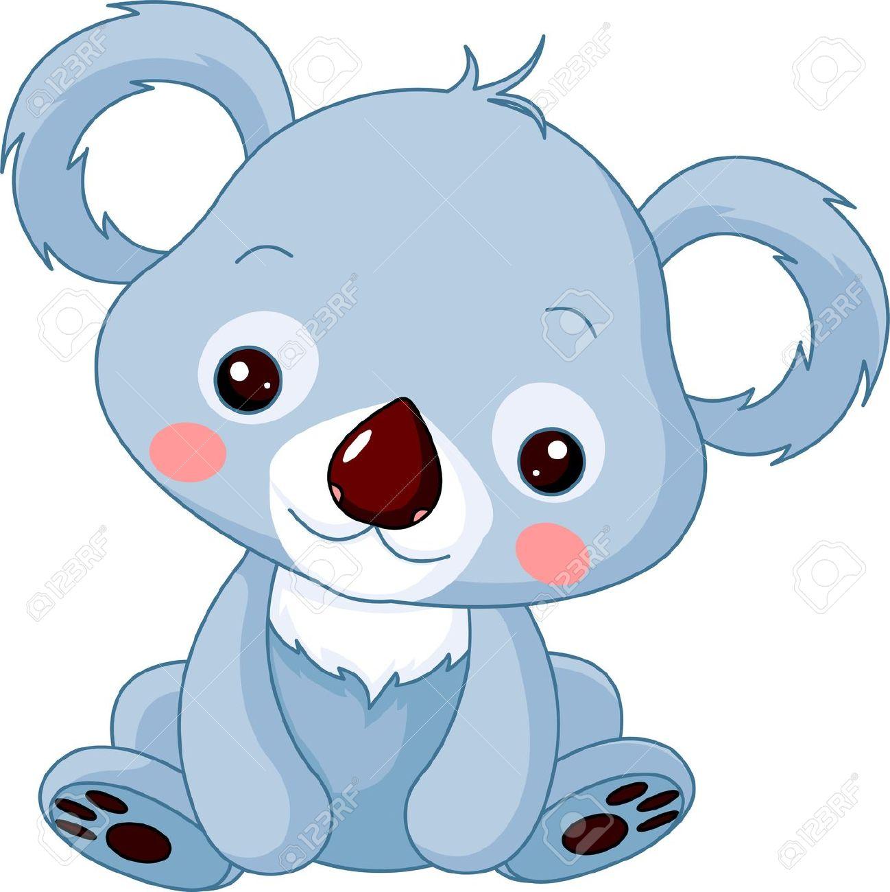 1298x1300 Baby Koala Drawings