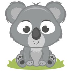236x236 Cute Koala Bear Clipart