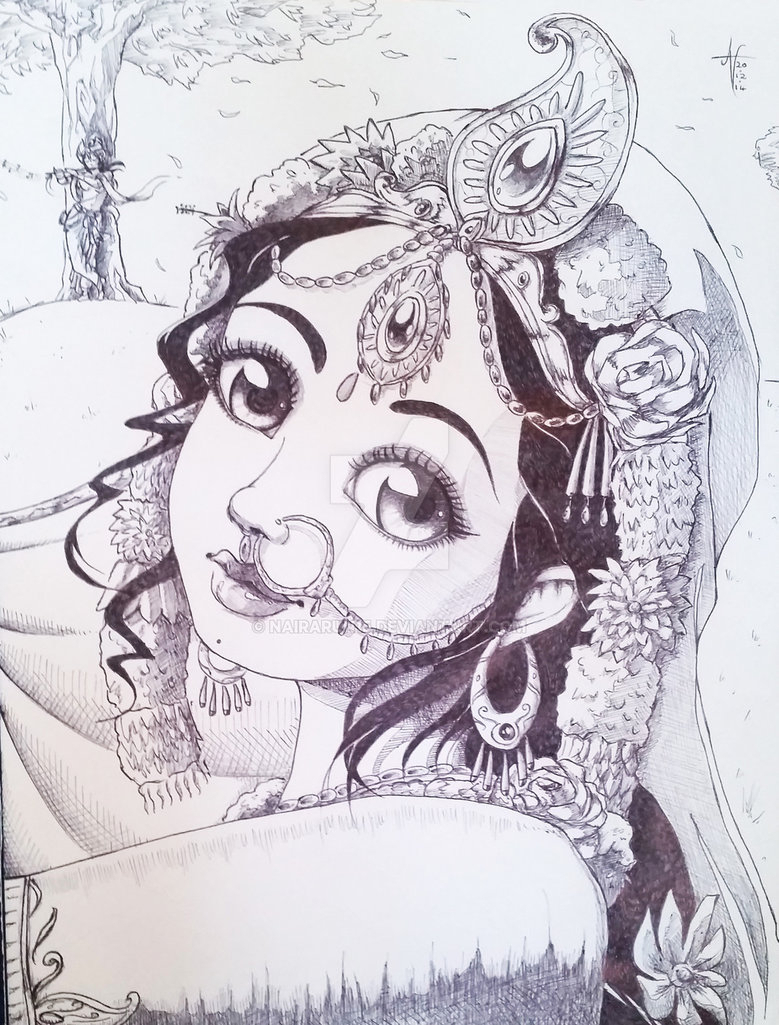 779x1025 Cute Baby Krishna Pencil Sketch Cute Little Krishna Pencil Drawing