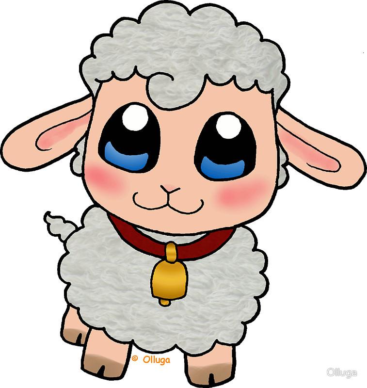 Baby Lamb Drawing at GetDrawings | Free download