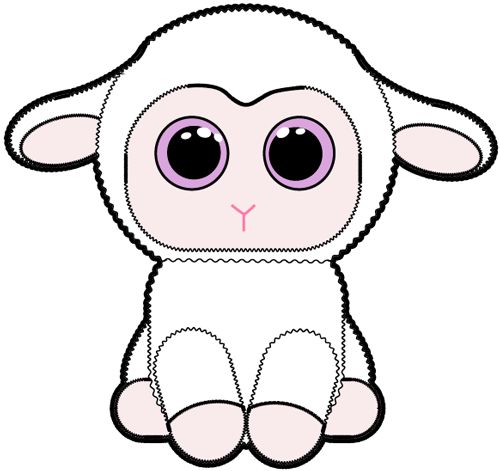 500x471 How To Draw Baby Lamb With Easy Step By Step Drawing Tutorial