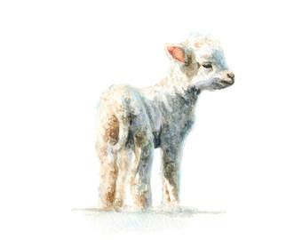 340x270 Lamb Art Etsy