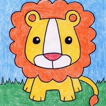 365x365 Drawing Animals Ebook Art Lessons, Third Grade Art And Lion Art