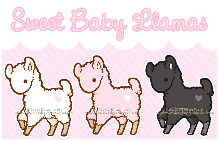 700x450 Baby Llamas By Mooglegurl