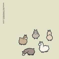 236x236 Llama Drawing