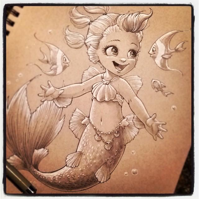 640x640 Baby Mermaid Mermaid Baby Mermaid, Mermaid And Babies