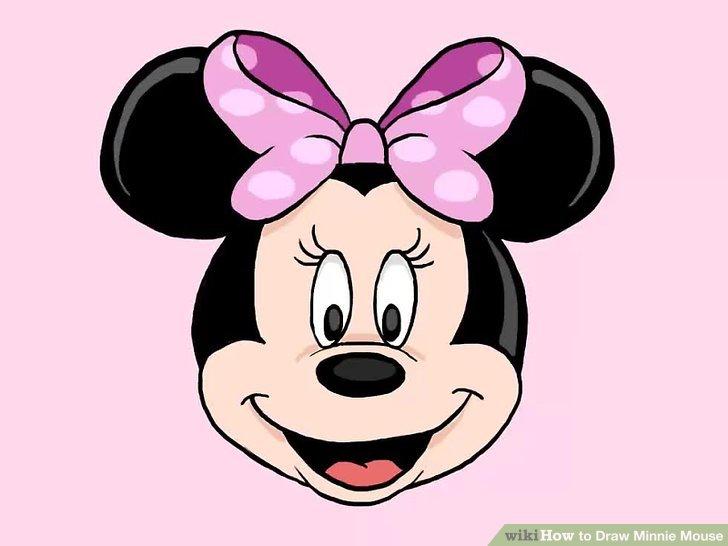 728x546 3 Ways To Draw Minnie Mouse Step By Step