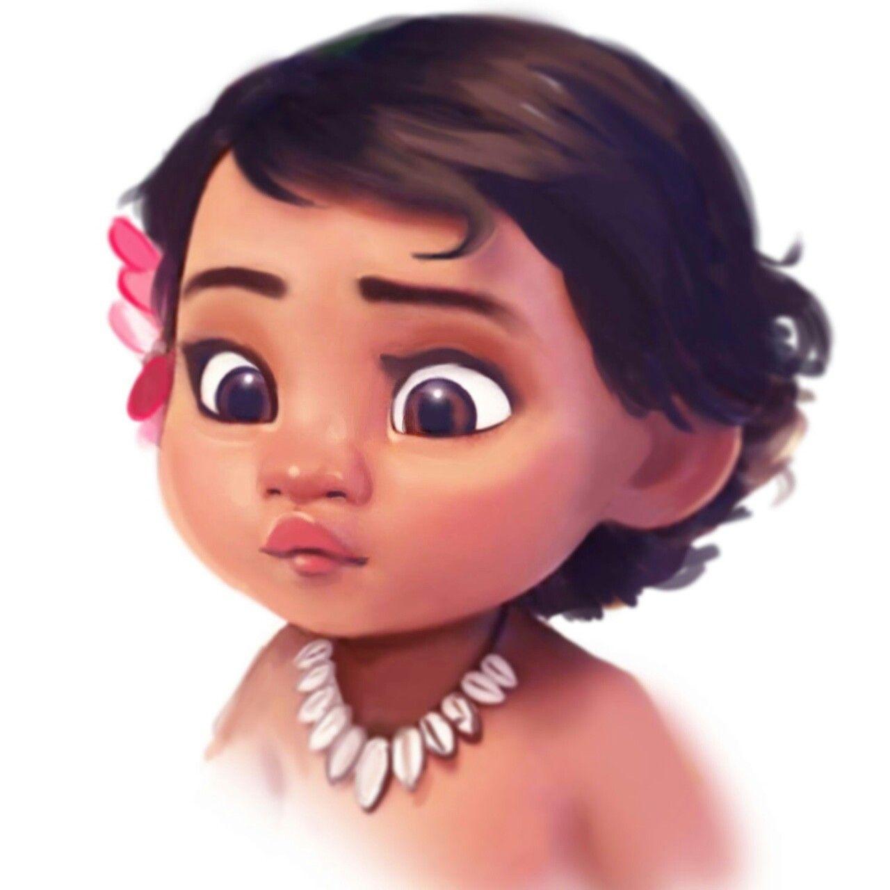 1280x1280 Baby Moana Cutie Pie Disney Fandom Moana, Babies