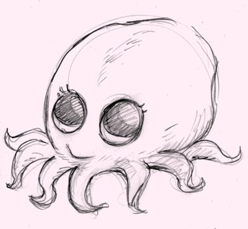 360x333 Baby Octopus Colleen Coover