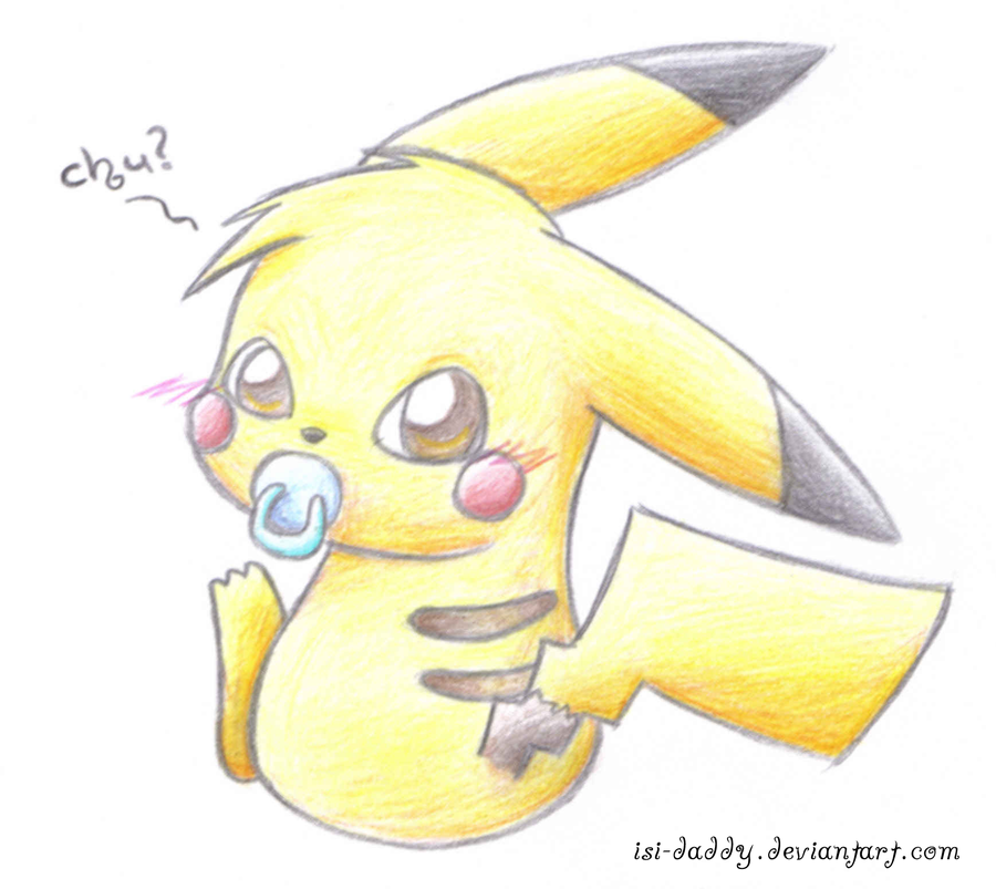 900x803 Baby Pikachu 01 By Isi Daddy On DeviantArt