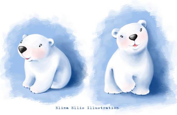 567x370 Elina Ellis Illustration Baby Polar Bear