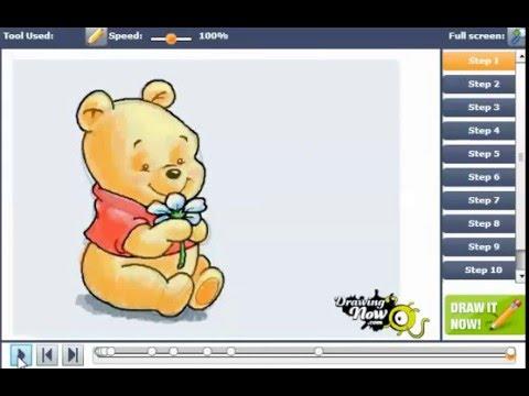 480x360 How To Draw Baby Winnie The Pooh