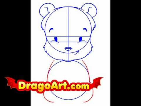 480x360 How To Draw Baby Pooh, Step By Step
