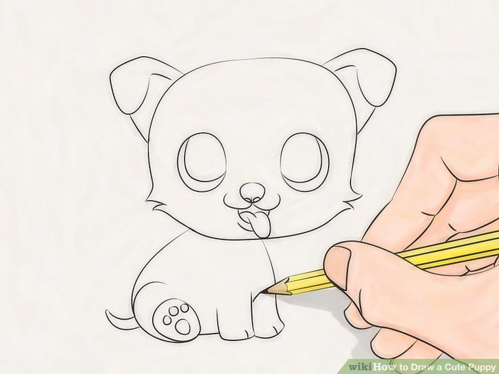 How to Draw a Baby Dog - DrawingNow   How To Draw A Baby Puppy