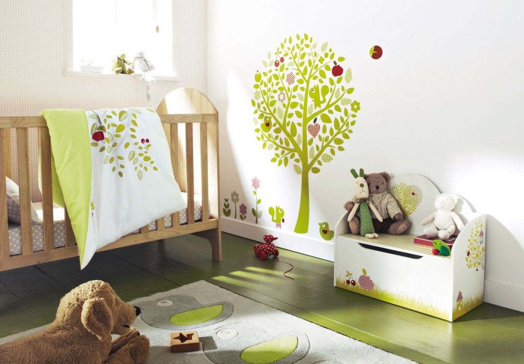 1024x713 Baby Room Wall Art Drawing Bedroom Design