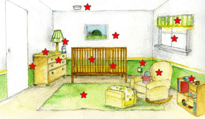 792x458 Wonderful Baby Room Safety