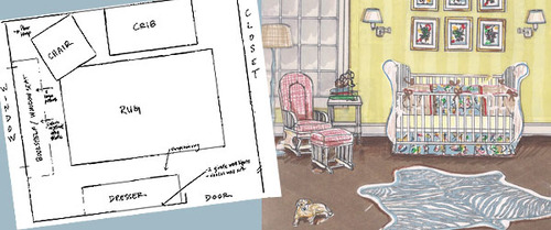500x209 Young America Blog 8 Steps To Designing Your Baby's Nursery