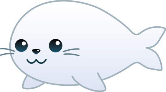 550x307 Cute White Baby Seal
