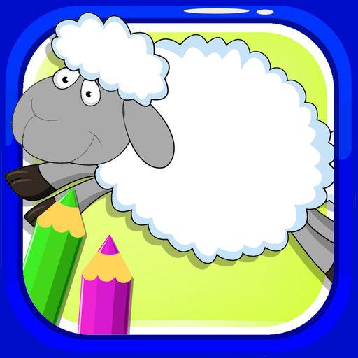 512x512 Baby Sheep Coloring Drawing Games Edition By Thana Chumnarnchanarn