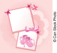 190x179 Pink Baby Shoes. Pink Baby Shoes On White Background Clip Art