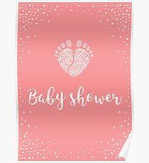210x230 Baby Shower Drawing Posters Redbubble