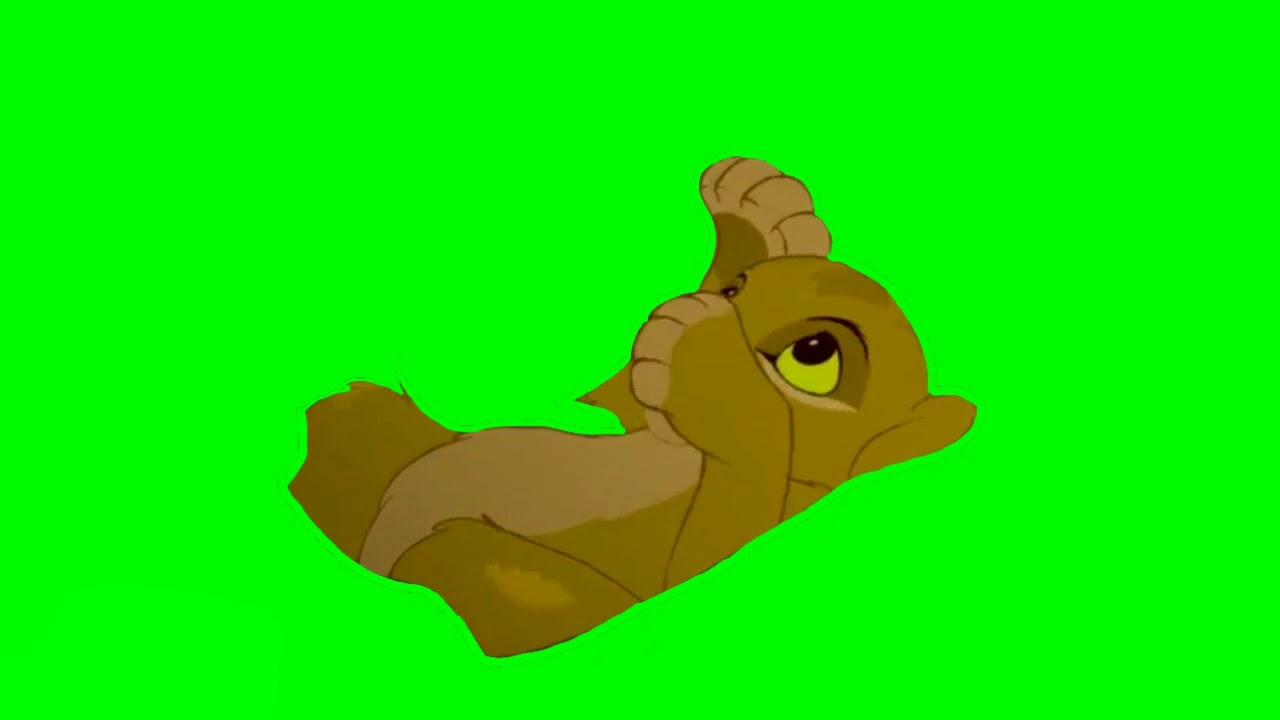 1280x720 Baby Simba Masking