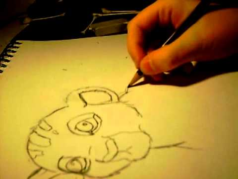 480x360 Baby Simba Speed Drawing