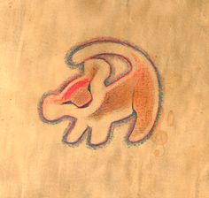 236x224 Simba Cave Drawing Rafiki {Mutters To Himself, In Which