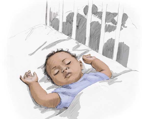 557x466 Good Amp Safe Sleep Aboriginal Children Raising Children Network