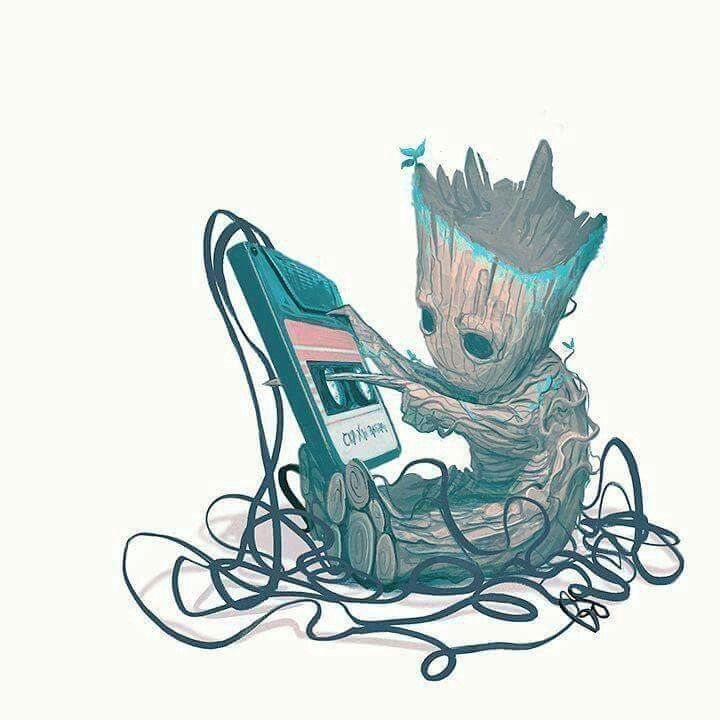 720x720 Baby Groot Ruins The Tape!!! Guardians Of The Galaxy