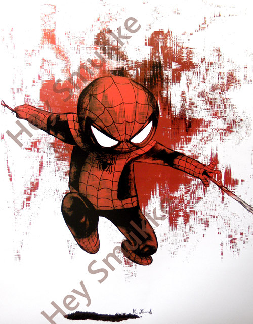 500x640 Spiderman Wall Art, Baby Spiderman, Spiderman Drawing, Spiderman