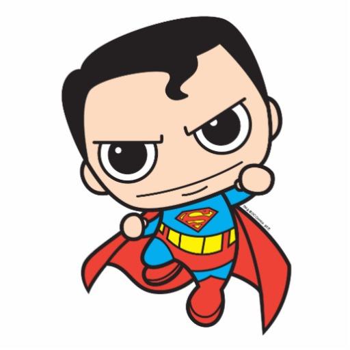 512x512 Baby Superman Drawing