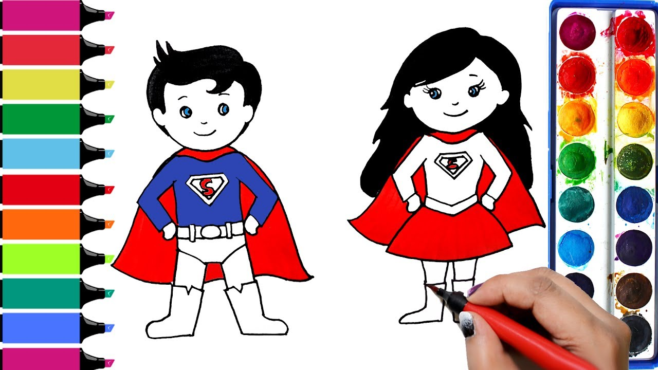 Baby Superman Drawing at GetDrawings.com | Free for personal use ...