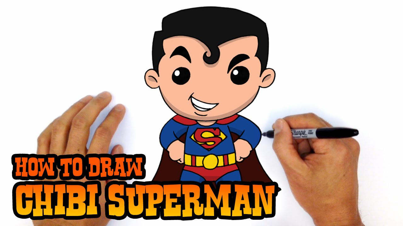 1280x720 How To Draw Superman Justice League
