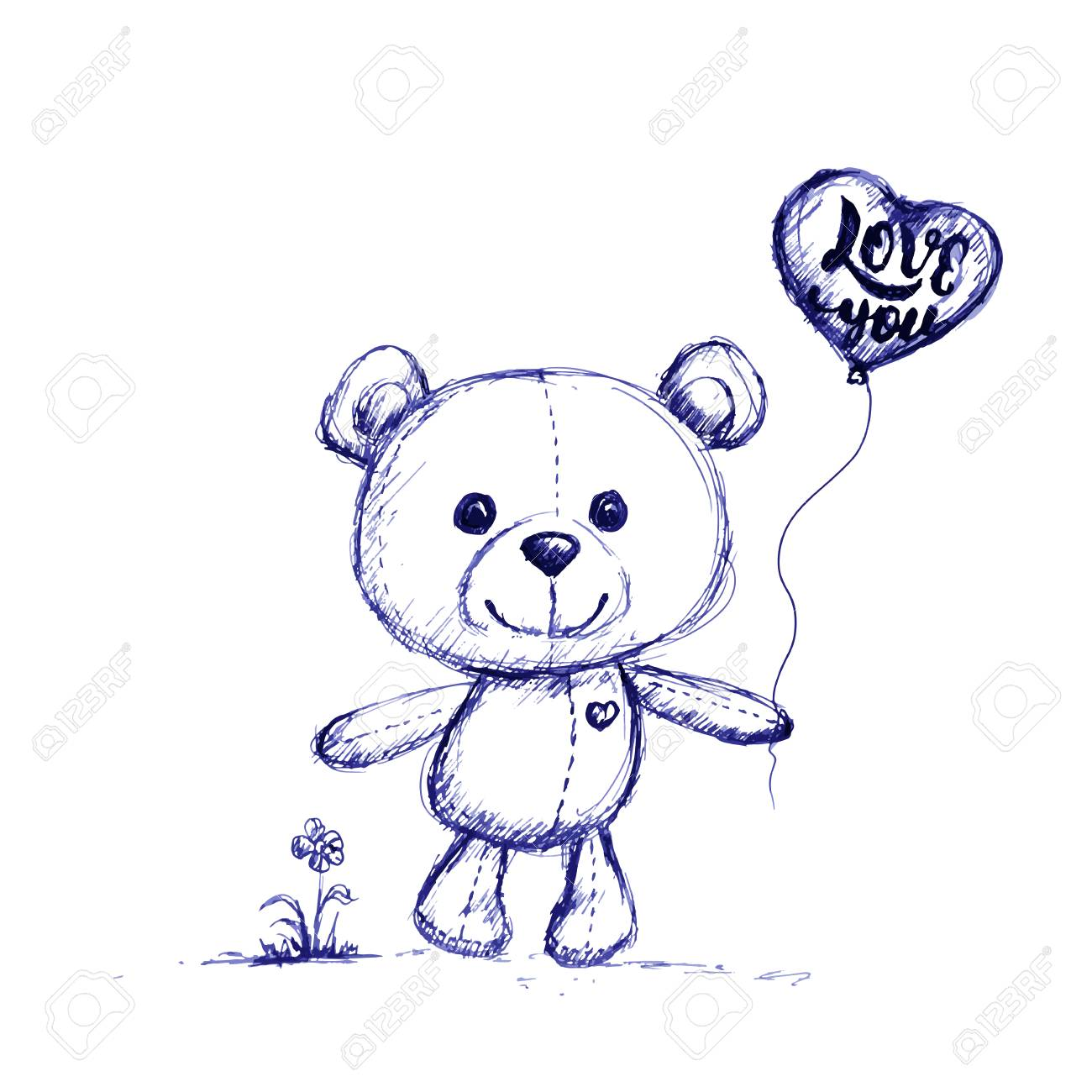 baby teddy bear drawing at getdrawings com free for Toy Train Vector Teddy Bear Silhouette Vector