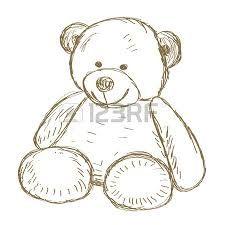 225x225 Baby Shawre Teddy Bear Drawing