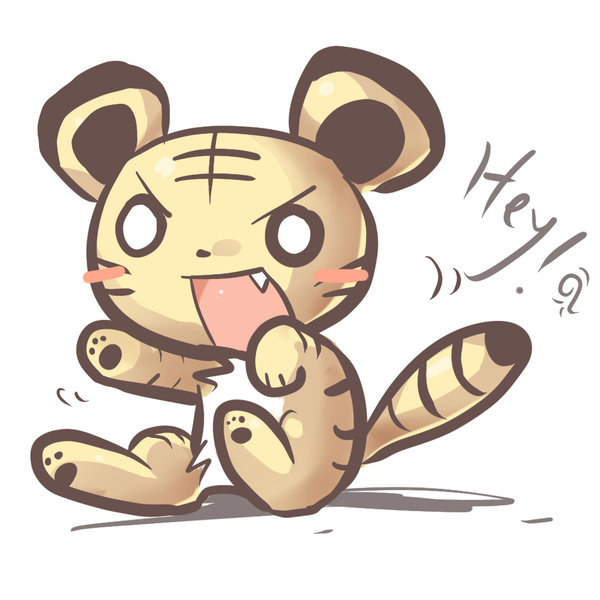 600x600 Baby Tiger By Bwrose