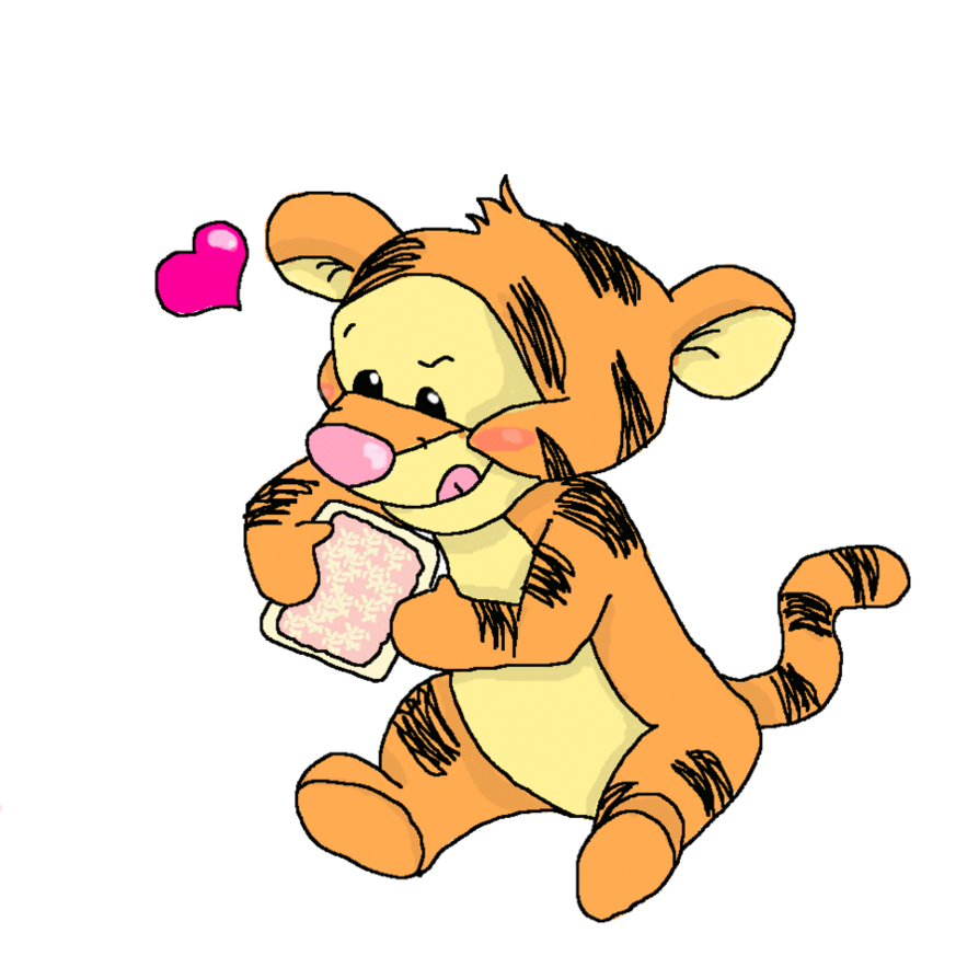 894x894 Baby Tigger By Chibiloverndrawer