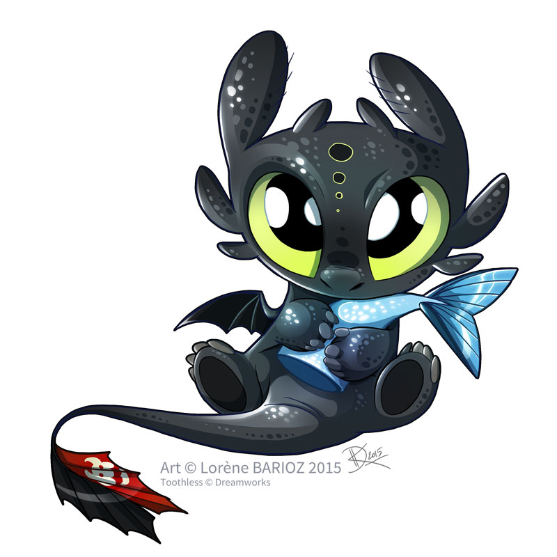 800x800 Baby Toothless By Dragibuz