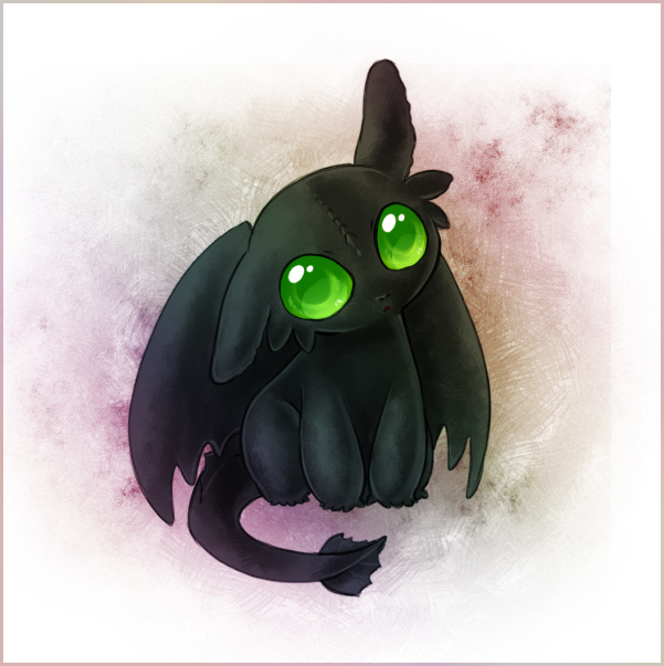 601x603 Baby Toothless By Zilleniose