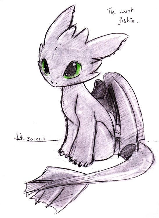 547x747 Baby Toothless. Isn'T He Cute Xd Couldn'T Resist! Toothless (C