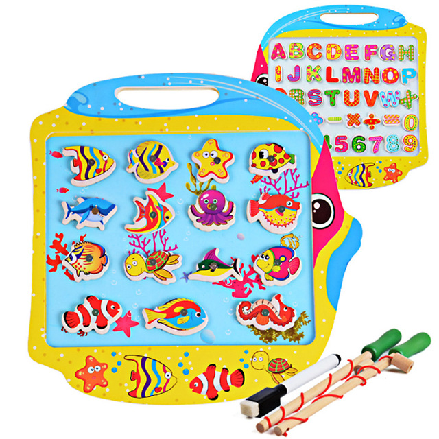 640x640 Kids Multifunctional Early Educational Toys Children Double Face
