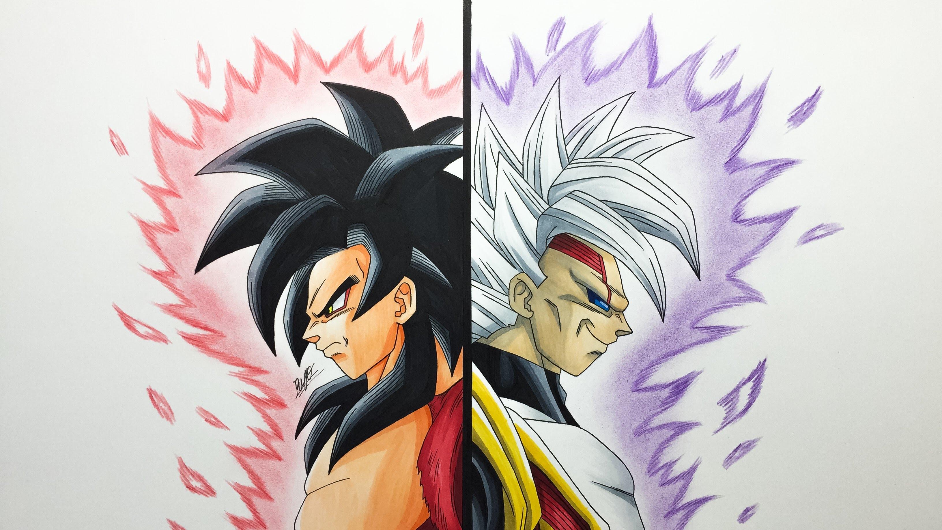 3264x1836 Goku Super Saiyan4 Vs
