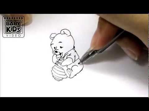 480x360 How To Draw Winnie The Pooh, Drawing Winnie The Pooh, Draw Winnie
