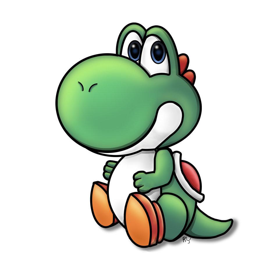 880x908 Baby Yoshi By Froggyjoseguy
