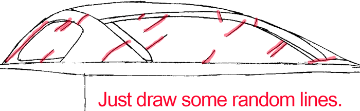 700x216 How To Draw The Back Of A Car With Easy Step By Step Drawing