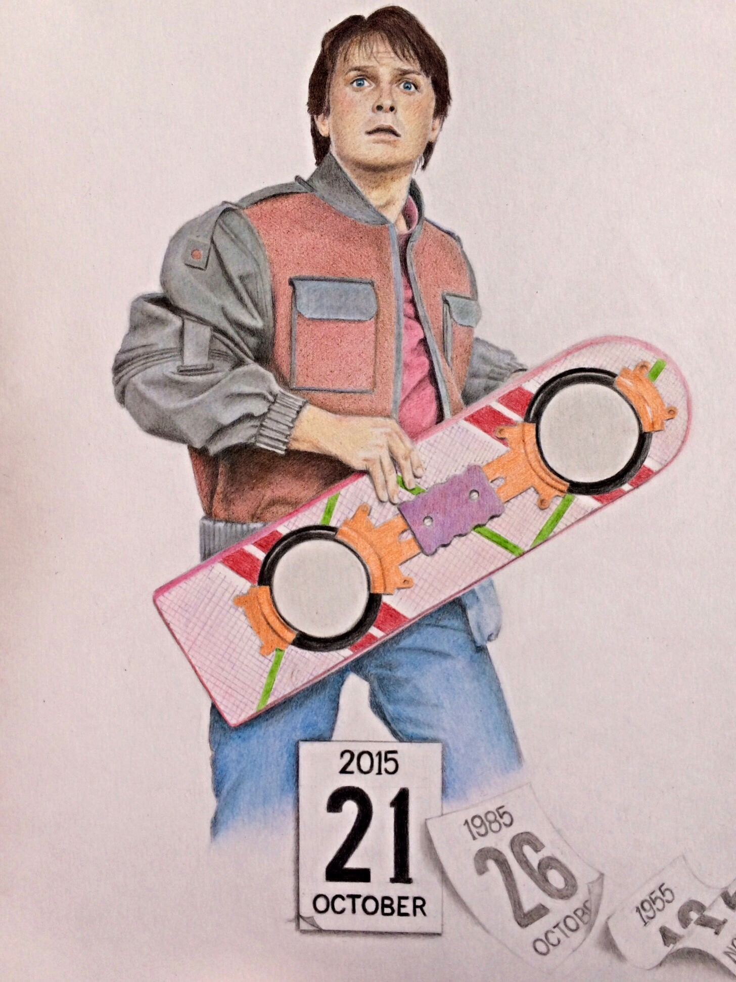 1456x1942 Back To The Future Drawing Back To The Future Drawing My Path