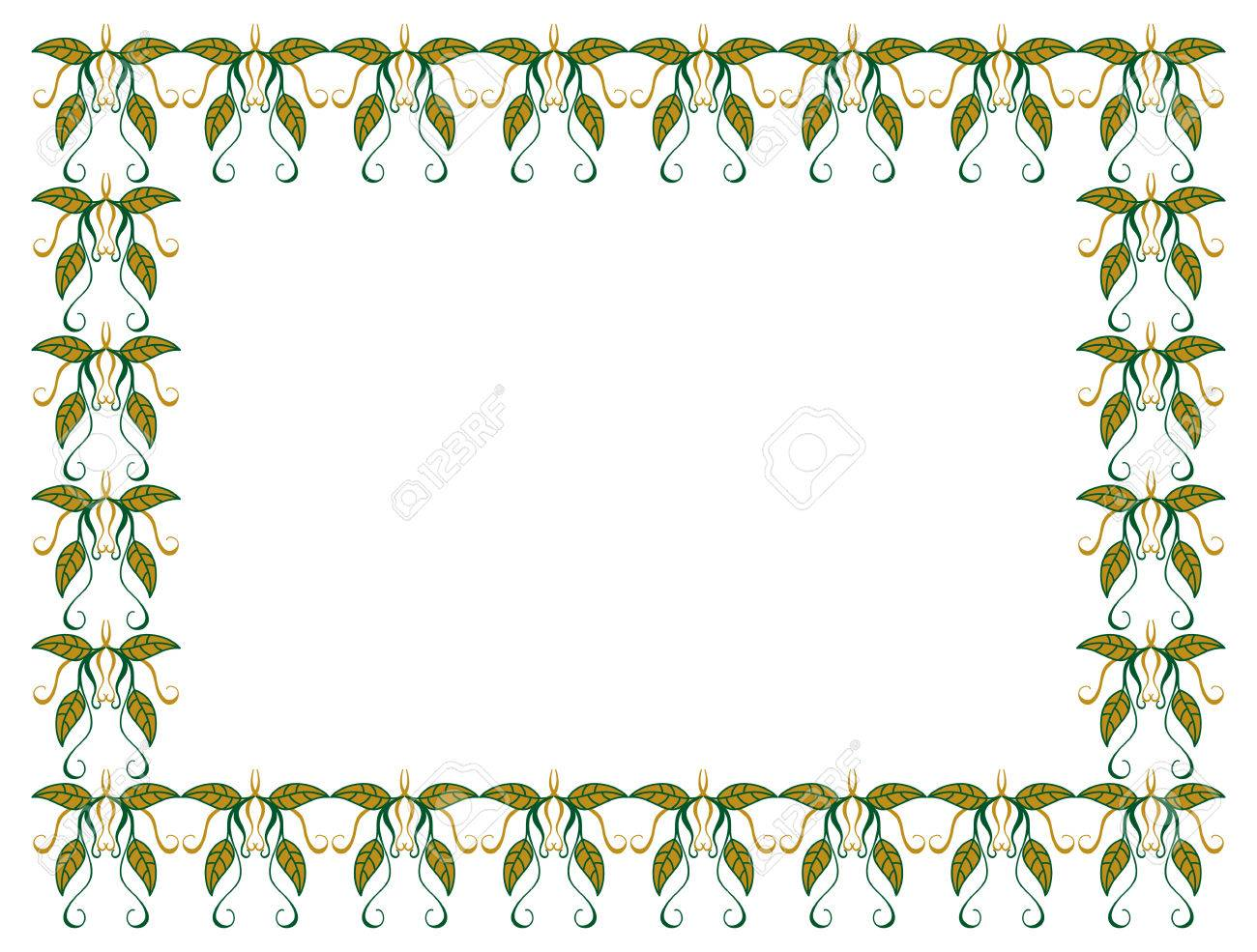 1300x985 Horizontal, Color, Decorative, Leaves, Vector,