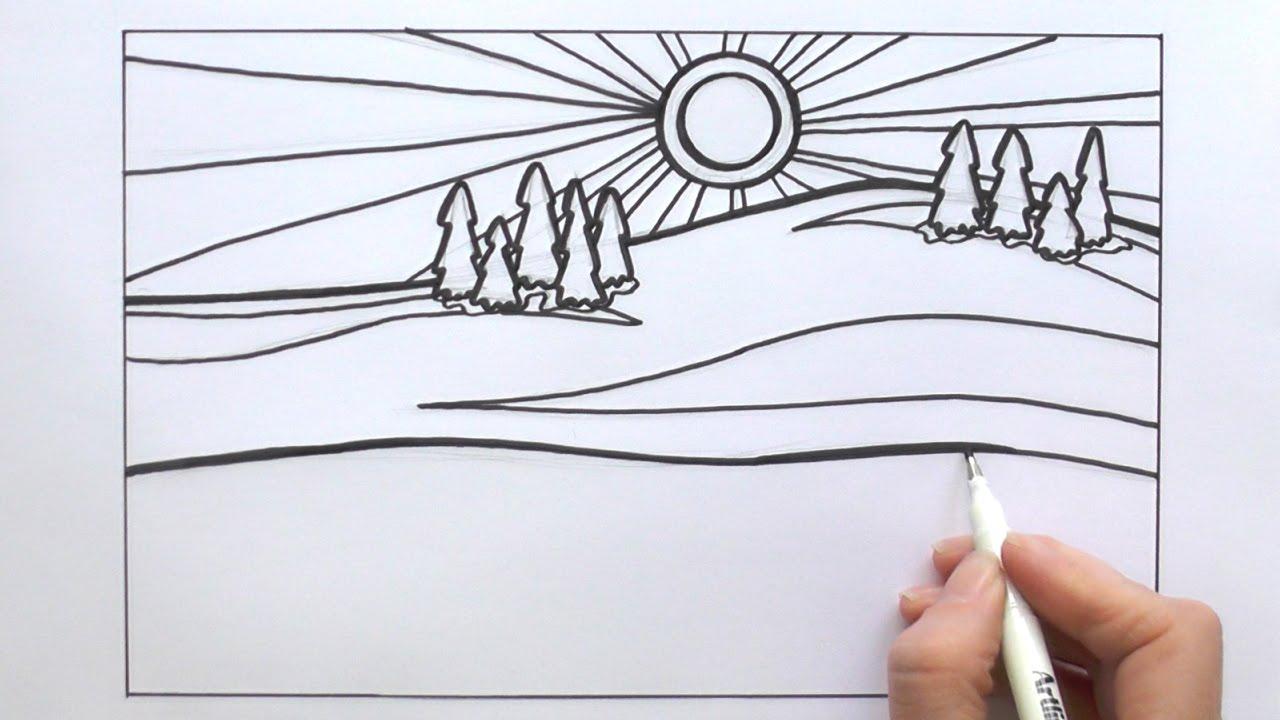 1280x720 How To Draw A Cartoon Snowy Background From Animal Jam